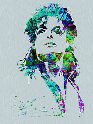 Colorful Painting - Michael Jackson by Naxart Studio