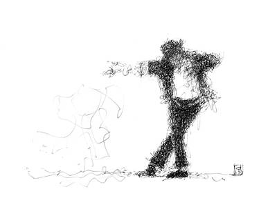 Michael Jackson Art Print by Jorge Iglesias