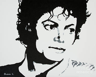 Painting - Michael Jackson by Katharina Filus