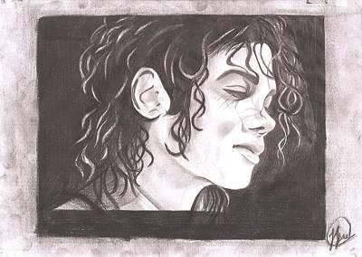 Michael Jackson Drawing Drawing - Michael Jackson by Kristina Nabieva