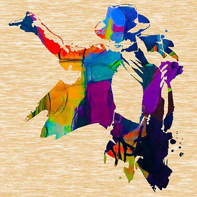 Michael Jackson Mixed Media - Michael Jackson by Marvin Blaine
