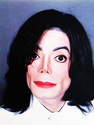Michael Jackson Photograph - Michael Jackson Mugshot by Bill Cannon