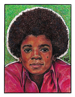 Michael Jackson Drawing - Michael Jackson by Neil Feigeles