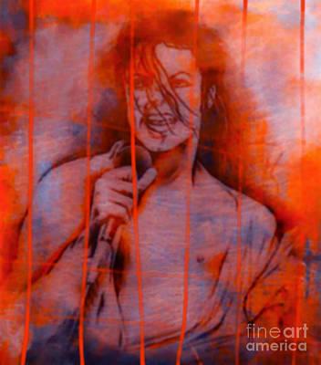 Michael Jackson Orange Serie Original by Felix Von Altersheim
