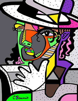 Michael Jackson Poster Art Print by C Baum