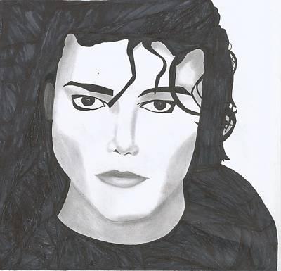 Michael Jackson Art Print by Savannah Juba