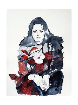 Mj Painting - Michael Jackson - Shiny Day by Hitomi Osanai