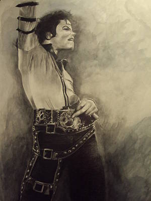 Michael Jackson Mixed Media - Michael Jackson by Simone Napier