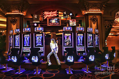 Michael Jackson Photograph - Michael Jackson Slots  by Chuck Kuhn