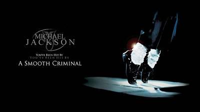 Michael Jackson - Smooth Criminal-30 Art Print by Jovemini ART