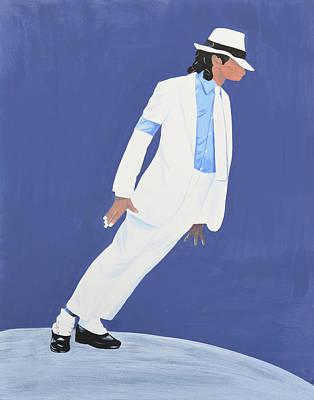 Michael Jackson Smooth Criminal Art Print by Deborah Rawles