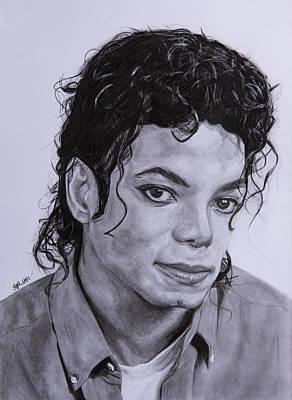 Michael Jackson Art Print by Steph Maiden