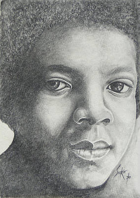 Drawing - Michael Jackson by Stephen Sookoo