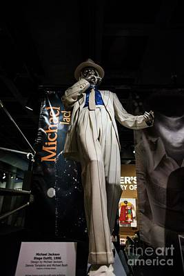 Photograph - Michael Jackson Suit by David Bearden