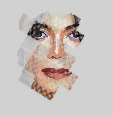 Digital Art - Michael Jackson T Shirt Edition  by Yury Malkov
