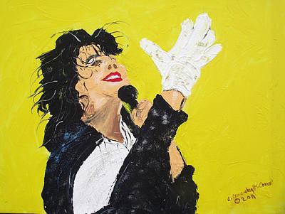 Michael Jackson The Hand Original by Arlene  Wright-Correll