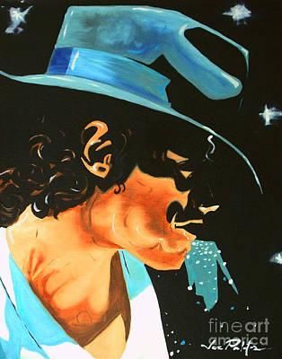 Painting - Michael Jackson This Is It by Joseph Palotas