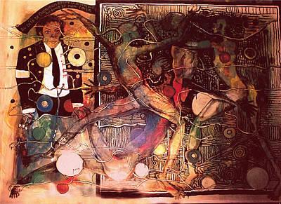 Michael Jackson This Painting Is Stolen . Art Print