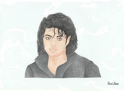 Michael Jackson Art Print by Toni Jaso