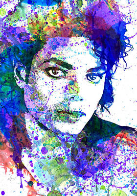 Michael Jackson Mixed Media - Michael Jacksons by Dante Blacksmith