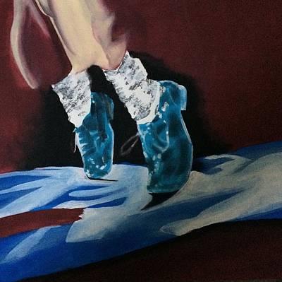 Michael Jackson's Socks Art Print