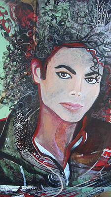 Painting - Michael by Jan VonBokel