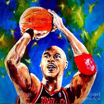 Michael Jordan Original by Alexander Gatsaniouk
