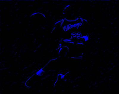 Michael Jordan L1 Art Print