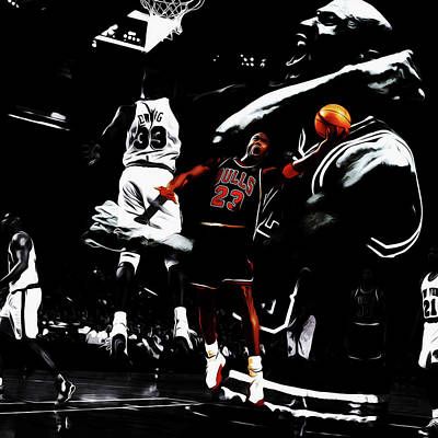 Michael Jordan Life Of Excellence Art Print