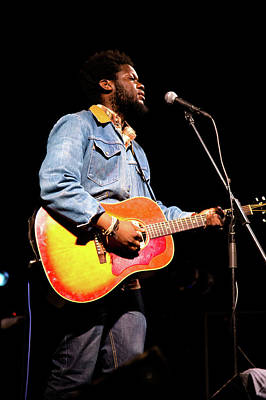 Photograph - Michael Kiwanuka, Photographed By Anna Webber At Heartbreaker Ba by Anna Webber