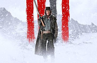 David Drawing - Michael Madsen The Hateful Eight by Movie Poster Prints