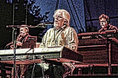 Photograph - Michael Mcdonald And Band by Ginger Wakem