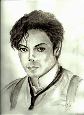 Michael Art Print by Nicole Wang