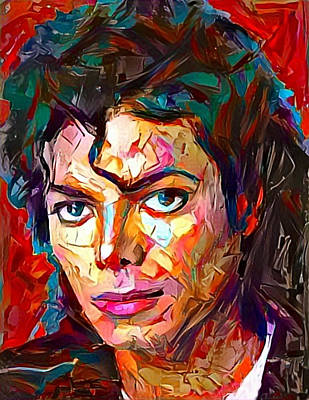 Painting - Michael by Paul Van Scott