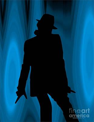 Michael Jackson Digital Art - Michael by Walter Oliver Neal