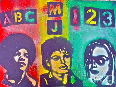 Tony B. Conscious Painting - Micheal Jackson Abc by Tony B Conscious