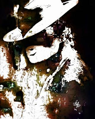 Micheal Digital Art - Micheal Jackson by Lynda Payton