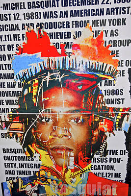 Michel Basquiat Art Print