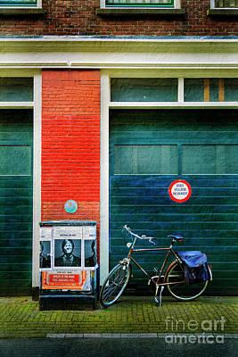 Photograph - Michel De Hey Bicycle by Craig J Satterlee