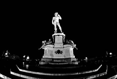 Photograph - Michelangelo At Night by Chris Alberding