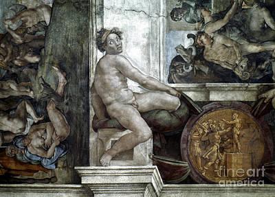 Painting - Michelangelo: Idol by Granger