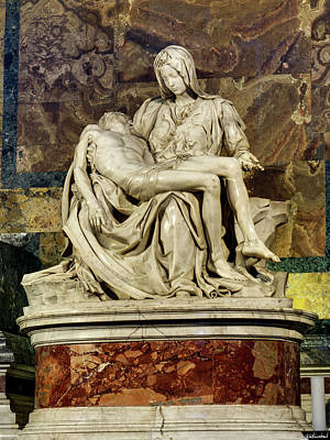 Photograph - Michelangelo La Pieta by Weston Westmoreland