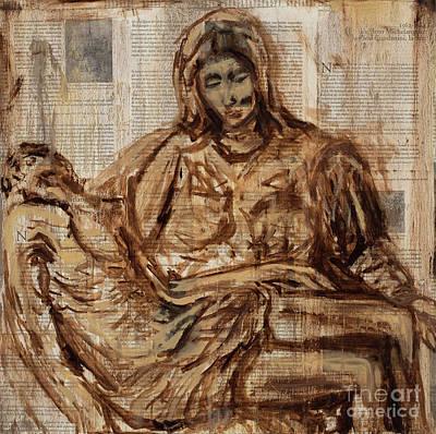Michelangelo Pieta Original by Jodi Monahan