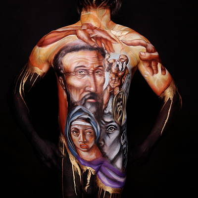 Michelangelo_i Art Print by Cully Firmin