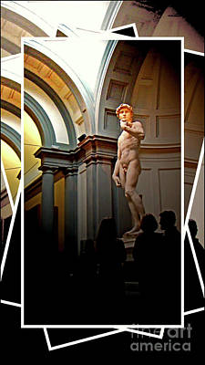 Photograph - Michelangelo's David by Al Bourassa