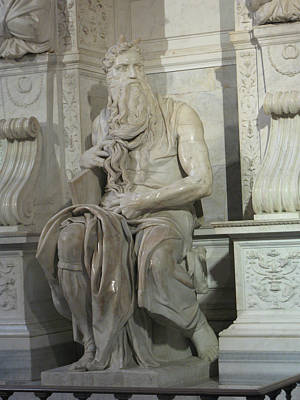 Wall Art - Photograph - Michelangelo's Moses by Linda Heberling