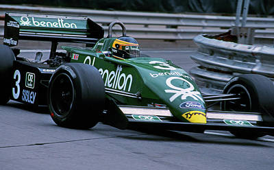Benetton Wall Art - Photograph - Michele Alboretto At Detroit by Mike Flynn