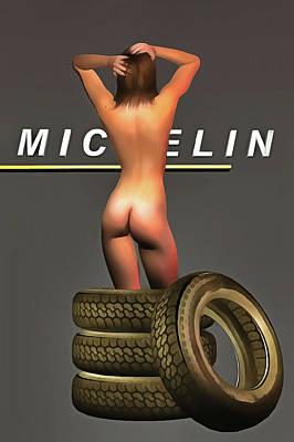Painting - Michelin by Jan Keteleer