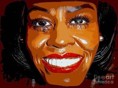 Michelle Art Print by Ed Weidman