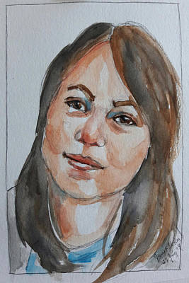 Painting - Michelle by Janet Butler